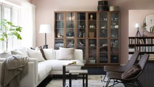 Mobili per il soggiorno in stile moderno: caratteristiche di scelta