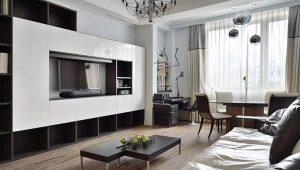 Diseño de la sala: características de la zonificación de la habitación