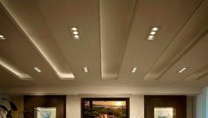 Las sutilezas del diseño del techo en el salón.