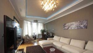 Dzīvojamās istabas dizains: mūsdienu idejas interjera dizainā