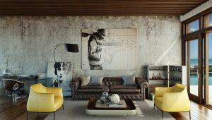 Mēbeles viesistabai: interjera dizaina veidi un idejas