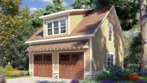 Two-story garages: advantages and features of projects