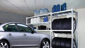 How to choose racks for the garage?