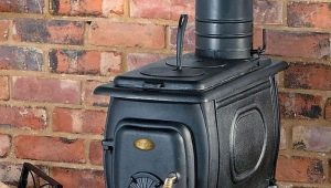 Wood-burning garage stoves: types and features of manufacturing