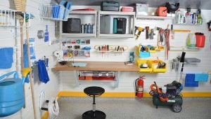 Subtleties of the arrangement of the garage: interesting and useful ideas