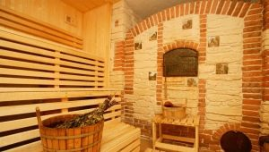 Brick stoves for a bath: types, advantages and disadvantages