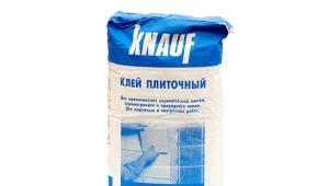 Knauf pegamento: variaciones y usos