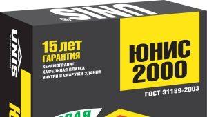 Unis 2000 Kleber: Eigenschaften, Verbrauch und Anwendung