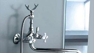 Grifo de bañera con caño largo: características y matices de elección