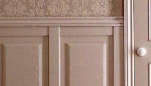 Paneles de MDF para paredes: tipos y colores.