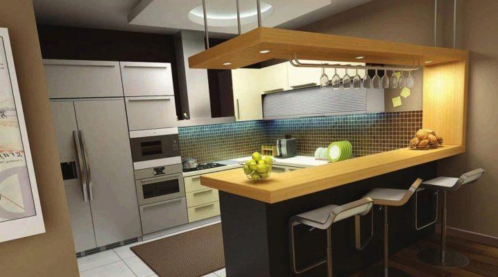 Lada Barowa Do Kuchni 105 Zdjęć Stół Barowy W Studiu