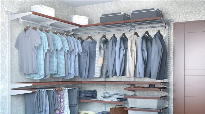 Sistemas de malla de armario.
