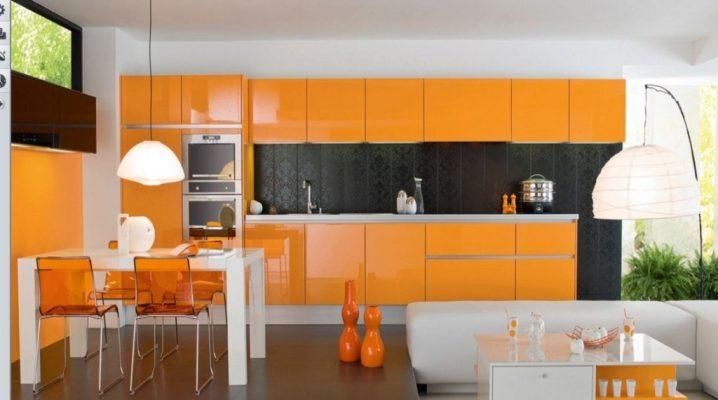 Wallpaper Untuk Dapur Oren 50 Gambar Warna Apa Yang Akan Sesuai Dengan Set Dapur