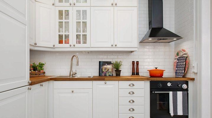 Biały Fartuch W Kuchni 45 Zdjęć Ceglany Fartuch Na Biały