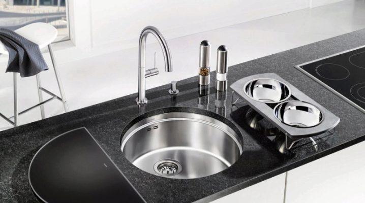 Lavello rotondo per la cucina (52 foto): lavello da cucina ...