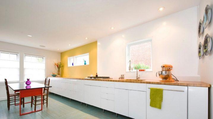 Cocina sin gabinetes superiores (67 fotos): juegos de cocina ...