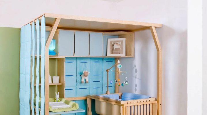 Perabot untuk bayi baru lahir