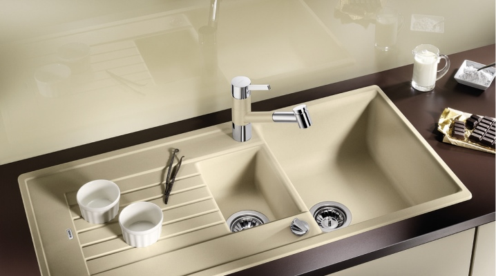 Lavello in granito per la cucina: gres porcellanato e ...