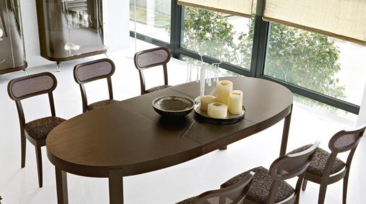 Mesas de cocina de madera (76 fotos): modelos redondos y ...