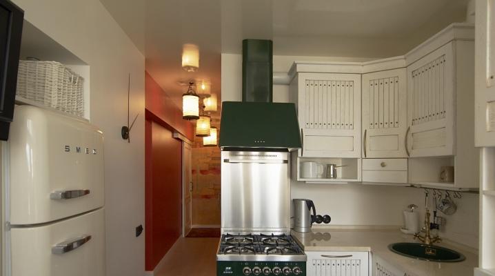 تصميم مطبخ صغير 6 مربع م مع ثلاجة 111 صور في خروتشوف