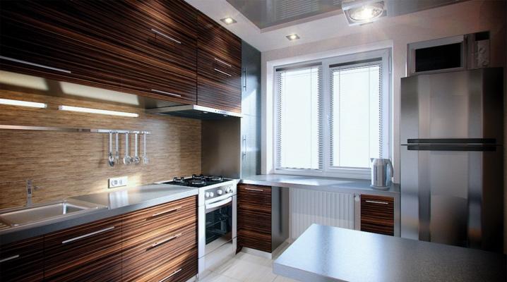 مطبخ صغير 5 مربع م مع ثلاجة 148 صور تصميم في خروتشوف