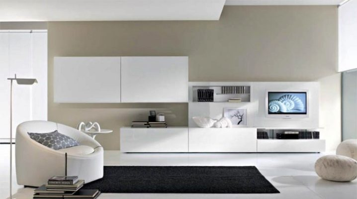 Muebles blancos para la sala de estar: consejos para elegir.