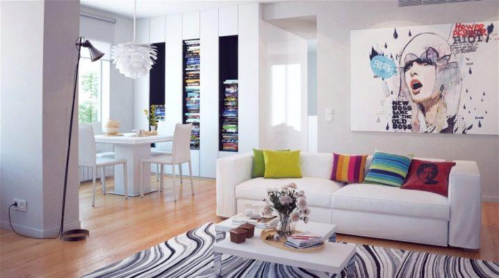 Decoración del salón: ideas originales de transformación interior.