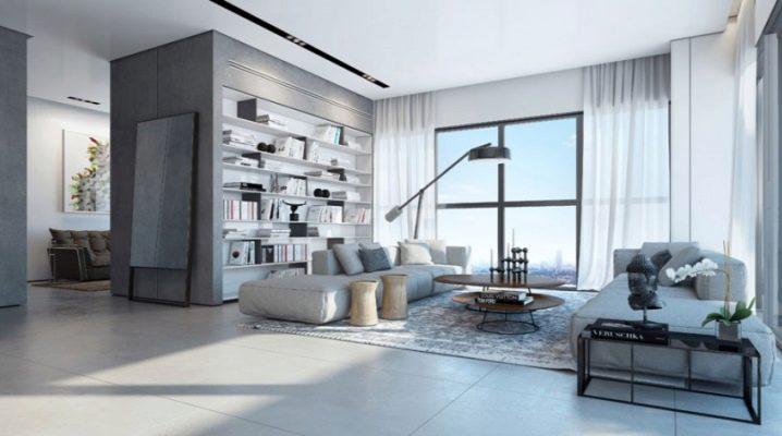 Sala de estar en colores brillantes: las sutilezas de un diseño interior elegante