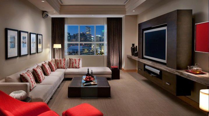 Cómo combinar colores en el interior de la sala de estar: consejos de diseño