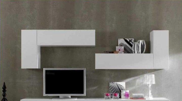 Muebles modulares para el salón: características de elección.