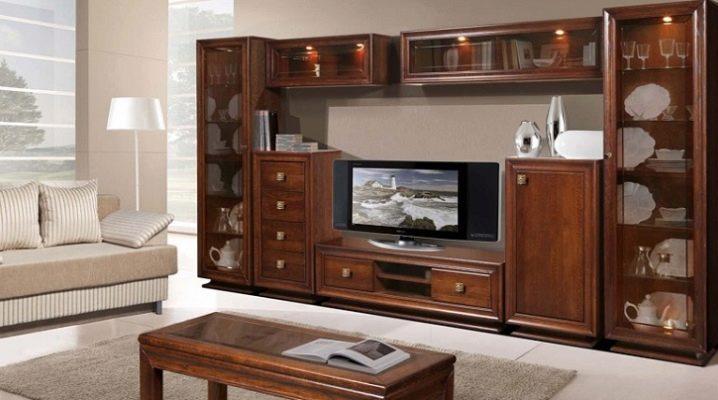 La scelta di mobili dalla serie per il soggiorno
