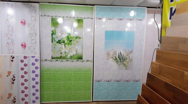 PVC-Paneele für das Badezimmer (100 Fotos): Laken und Latten ...