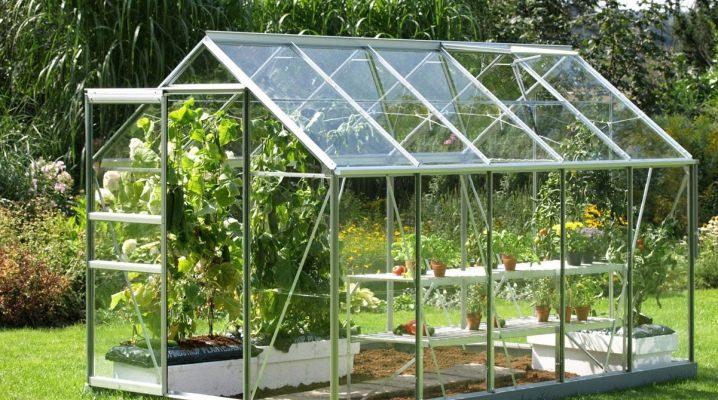Métodos para la fabricación de invernaderos a partir de perfiles metálicos.