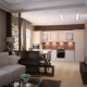 Design da sala de cozinha