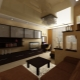 Design kitchen-living room of 20 square meters. m