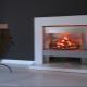 Caminetti elettrici con effetto fiamma viva