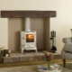 Pellet fireplace - ergonomic new