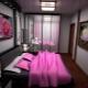 Armadio scorrevole in camera da letto e imbottitura interna