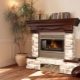 Decorative fireplace from gypsum cardboard do it yourself