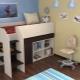 Παιδικό κρεβάτι με χώρο εργασίας