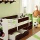 Παιδικό κρεβάτι για παιδιά από 3 έως 5 ετών