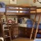 Παιδικό κρεβάτι από φυσικό ξύλο