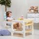 Barns omvandlingsstole med matbord
