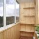 Design eines kleinen Balkons