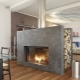 Wood fireplaces for home