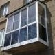 French balcony glazing