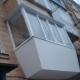 How to sheathe a balcony