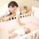 Στρώμα στο παχνί για νεογέννητα