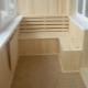 Balkon Holzdekoration