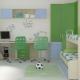 Γραφείο για δύο παιδιά